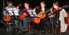 """Fot. 6. Kwartet gitarowy """"Ogniska Muzycznego"""" w Suchym Lesie."""