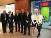 Fot. 1. Inwestorzy Galerii Sucholeskiej: (odlewej) Adrian Głębowski, Wiesław Żuchowicz, Marek Rakocy, Andrzej Sznajder, Dariusz Grzeszczyk.