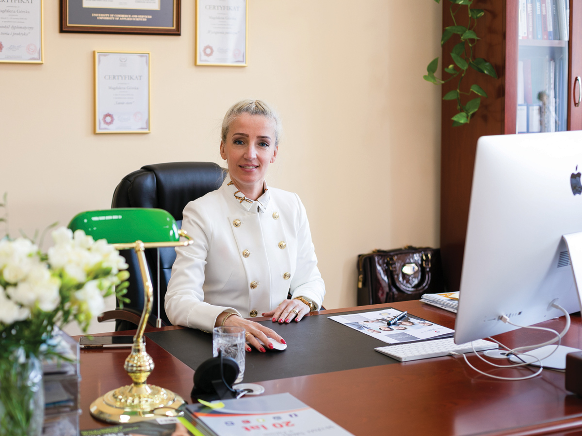 Magdalena Górska - Założyciel Wyższej Szkoły Handlu iUsług wPoznaniu