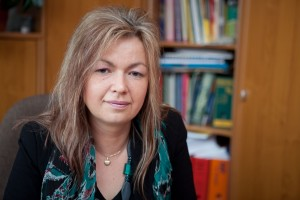 Sylwia Nowak-Kabacińska - dyrektor Ośrodka Pomocy Społecznej wSuchym Lesie